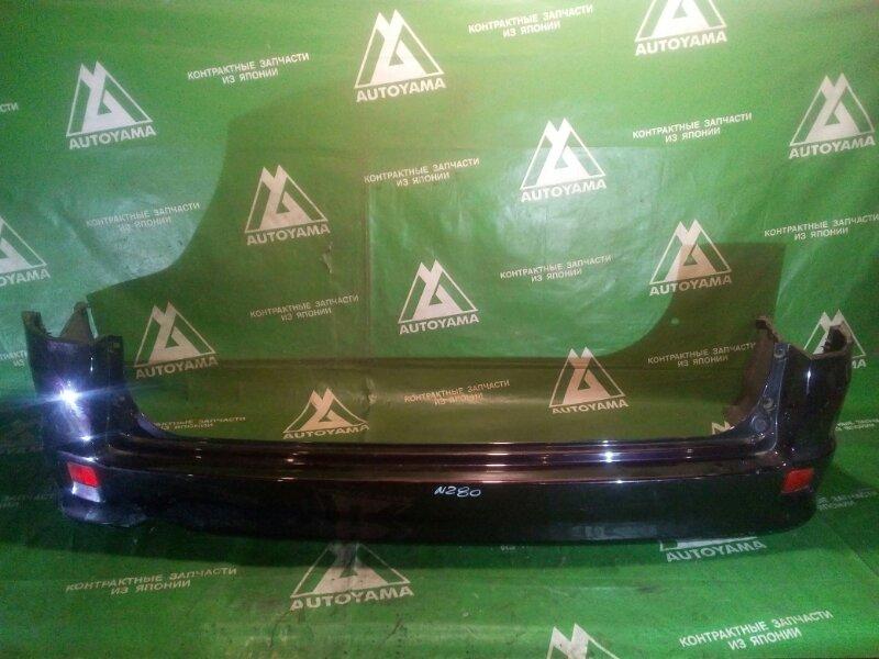 Бампер Honda Stepwgn RF5 задний (б/у)