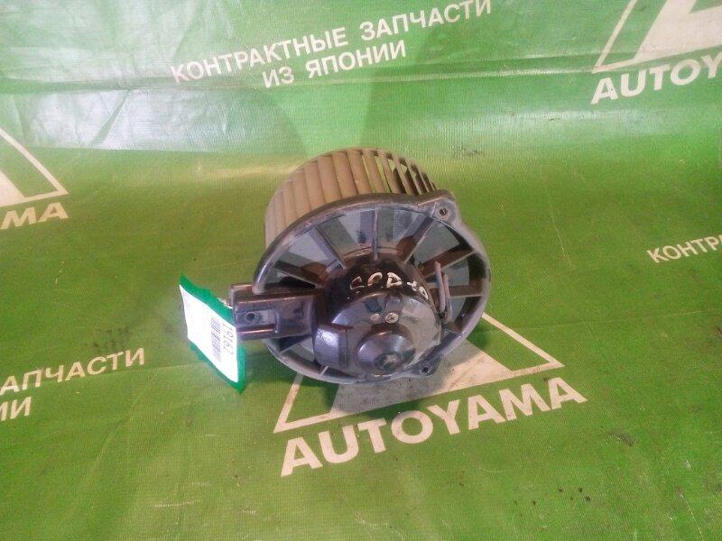 Мотор печки Toyota Vitz SCP10 (б/у)
