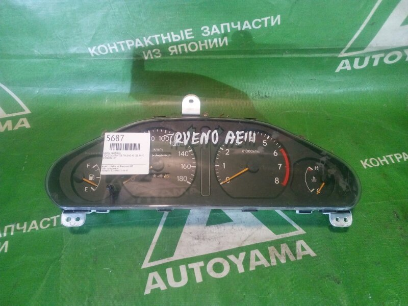 Щиток приборов Toyota Sprinter Trueno AE111 4AFE (б/у)