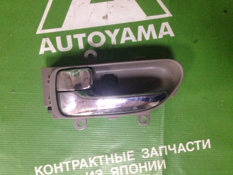 Ручка двери внутренняя Nissan Teana J31 VQ23 передняя левая (б/у)