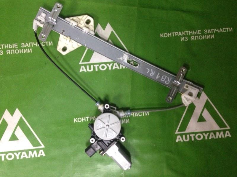 Стеклоподъемник Honda Odyssey RB1 K20A задний левый (б/у)