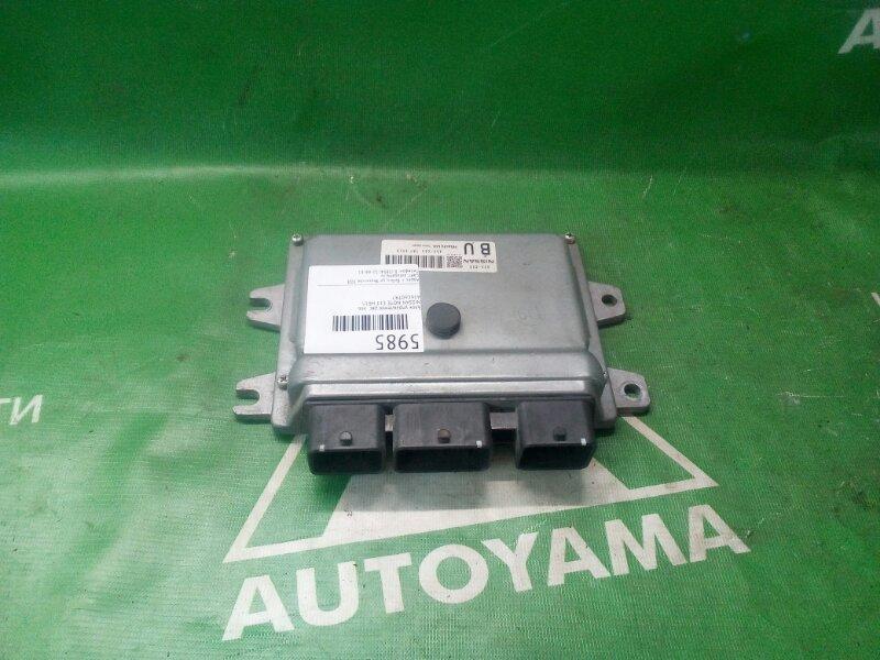 Блок управления двс Nissan Note E11 HR15 левый (б/у)