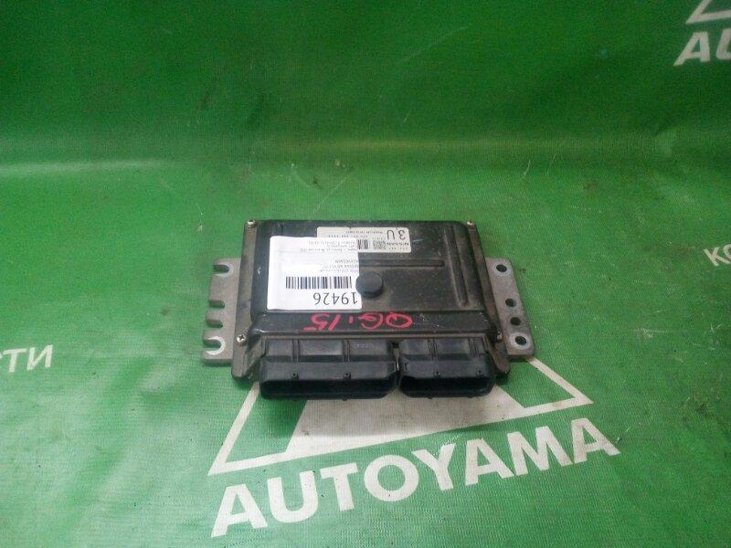 Блок управления двс Nissan Ad Y11 QG15 (б/у)