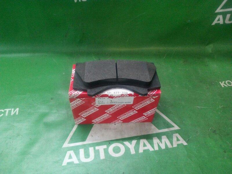 Тормозные колодки Toyota Land Cruiser URJ200 1URFE переднее