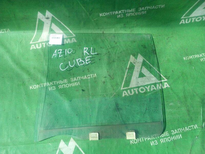 Стекло Nissan Cube Z10 заднее левое (б/у)