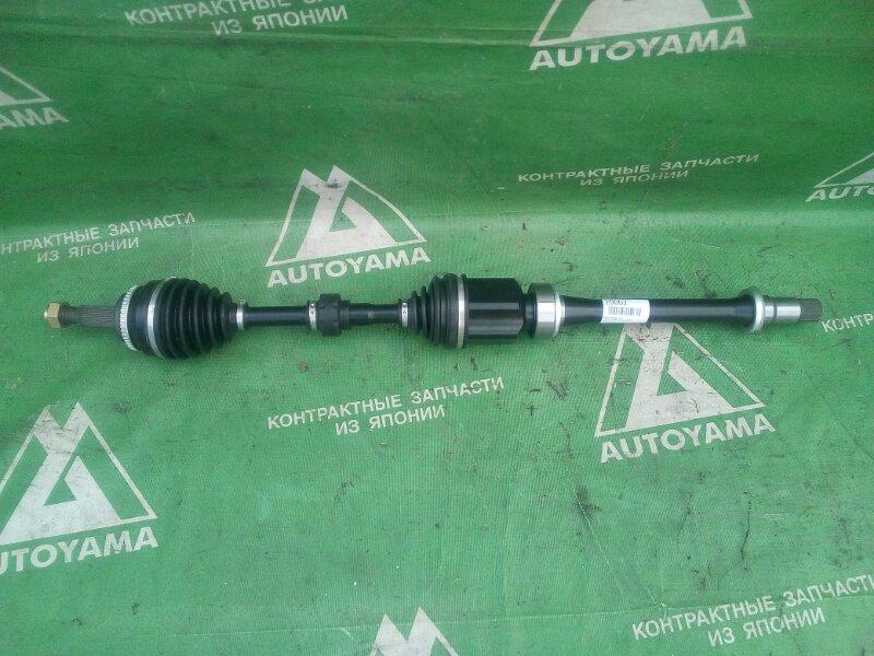 Привод Toyota Camry ACV30 2AZFE передний правый