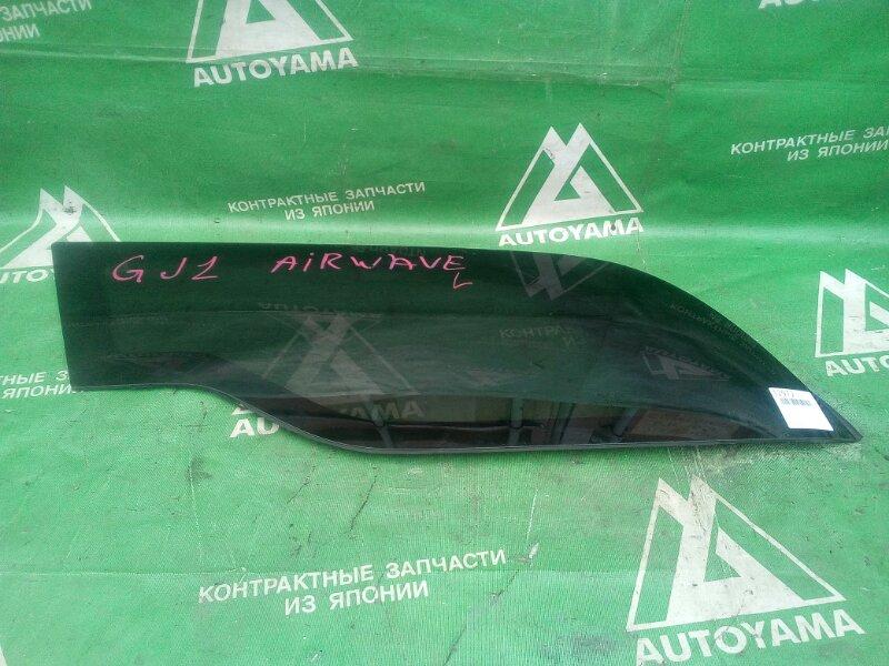 Стекло собачника Honda Airwave GJ2 заднее левое (б/у)