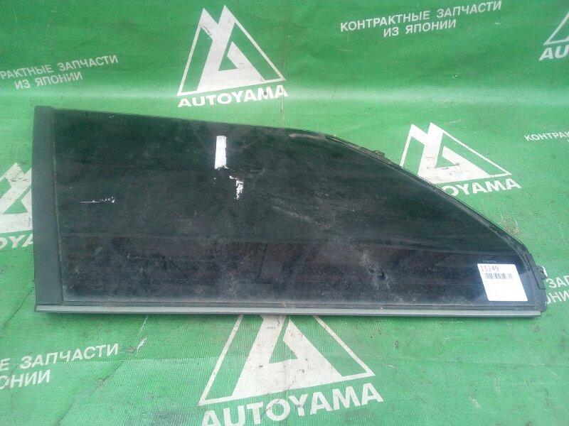Стекло собачника Toyota Corolla Wagon AE100 заднее левое (б/у)
