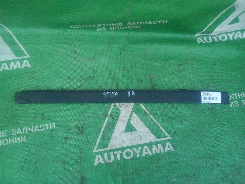 Ветровик Toyota Caldina AT190 задний правый (б/у)
