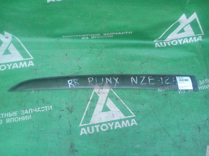 Ветровик Toyota Runx NZE120 задний правый (б/у)