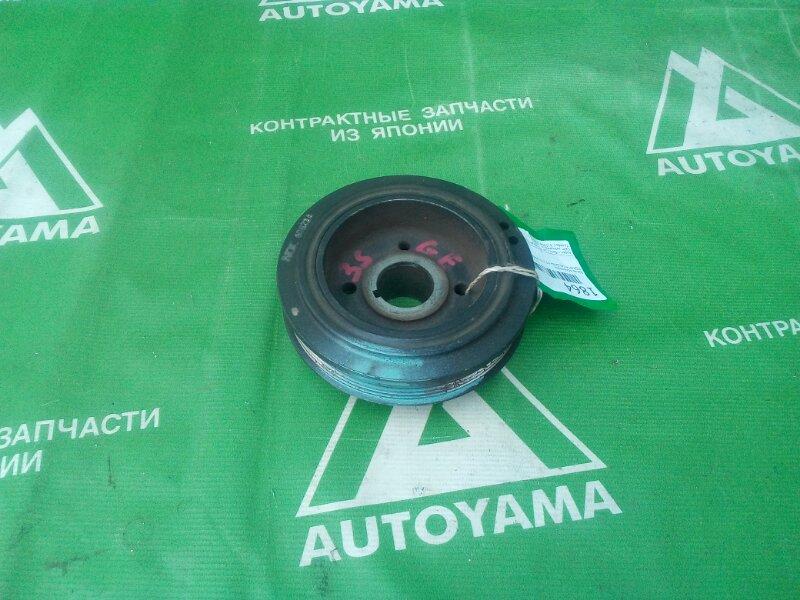 Шкив коленвала Toyota Caldina ST215 3SGE (б/у)