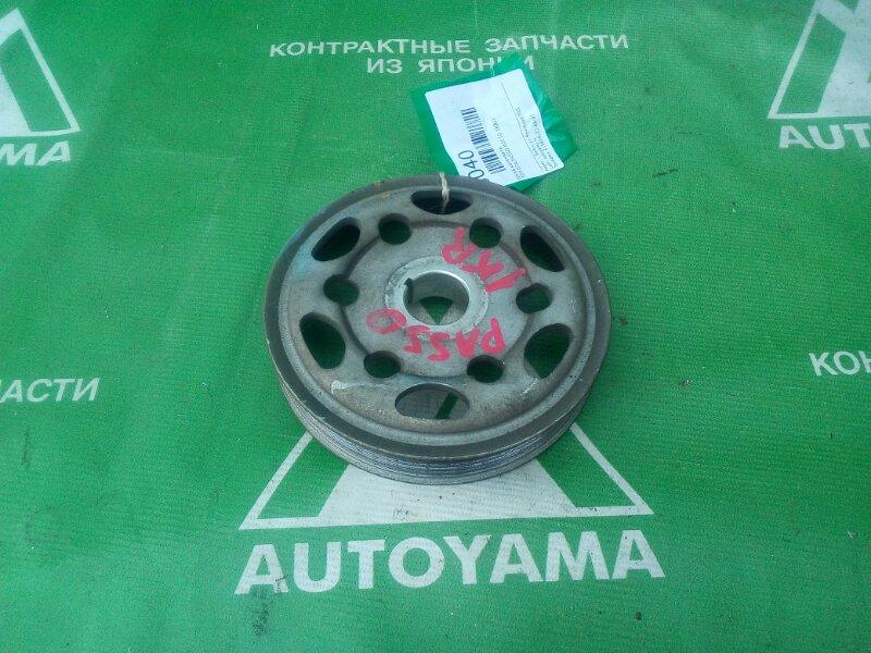 Шкив коленвала Toyota Passo KGC10 1KRFE (б/у)