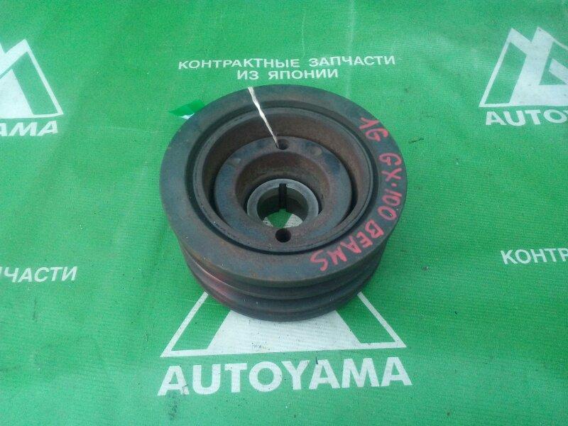 Шкив коленвала Toyota Markii GX90 1GFE (б/у)