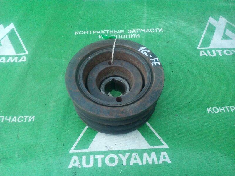 Шкив коленвала Toyota Mark Ii GX90 1GFE (б/у)