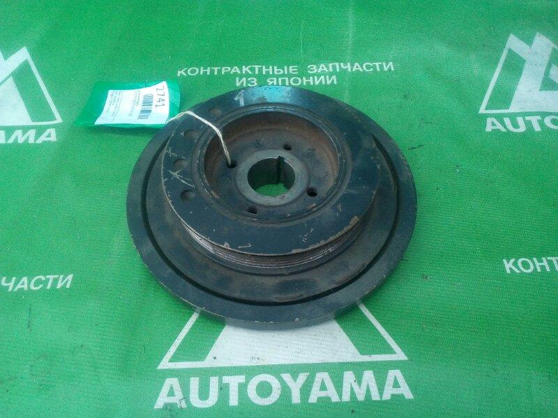 Шкив коленвала Toyota Cresta JZX100 1JZGE (б/у)
