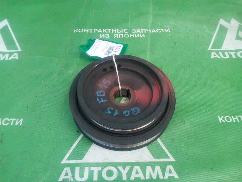 Шкив коленвала Nissan Sunny FB15 QG15 (б/у)