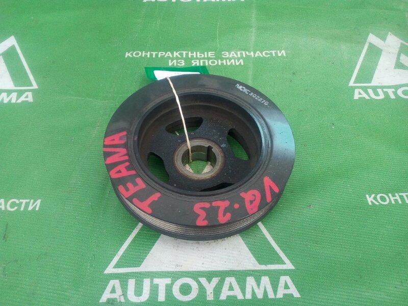 Шкив коленвала Nissan Teana J31 VQ23 (б/у)