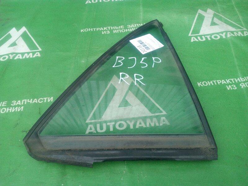 Форточка двери Mazda Familia BJ5P задняя правая (б/у)