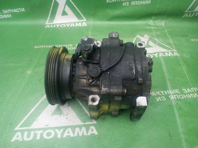 Компрессор кондиционера Toyota Cynos EL52 4EFE (б/у)