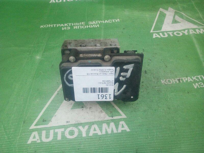 Блок abs Nissan Note E11 (б/у)