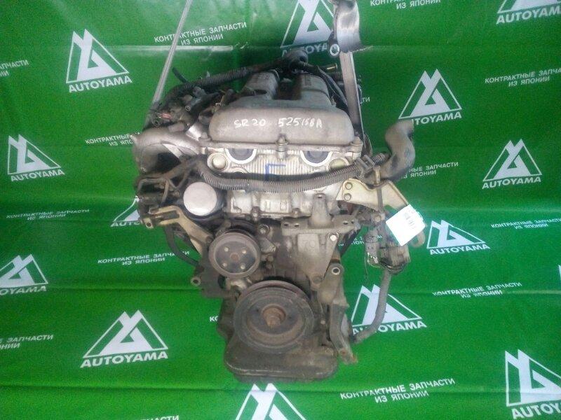 Двигатель Nissan Avenir PW10 SR20 (б/у)