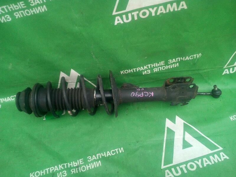 Стойка подвески Toyota Vitz SCP90 передняя правая (б/у)