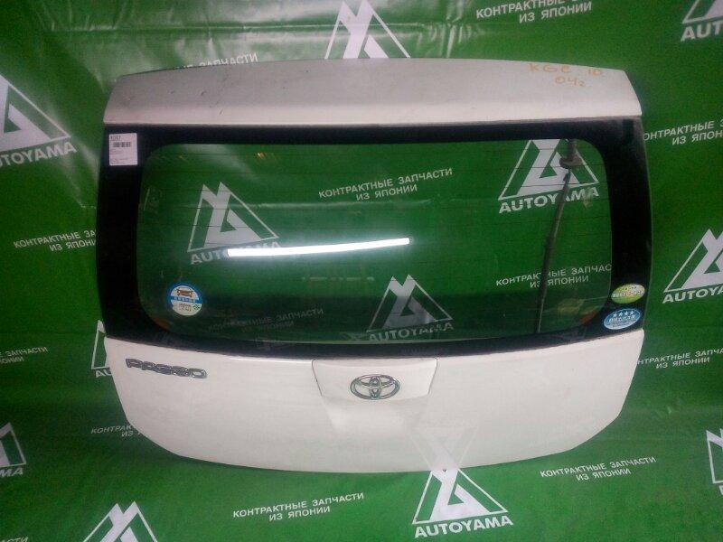 Дверь 5-я Toyota Passo KGC10 (б/у)