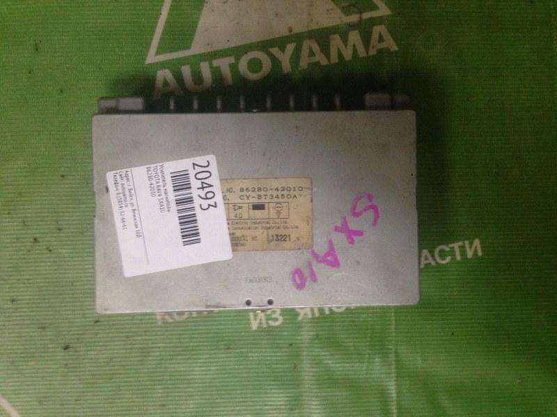 Усилитель магнитолы Toyota Rav4 SXA10 (б/у)
