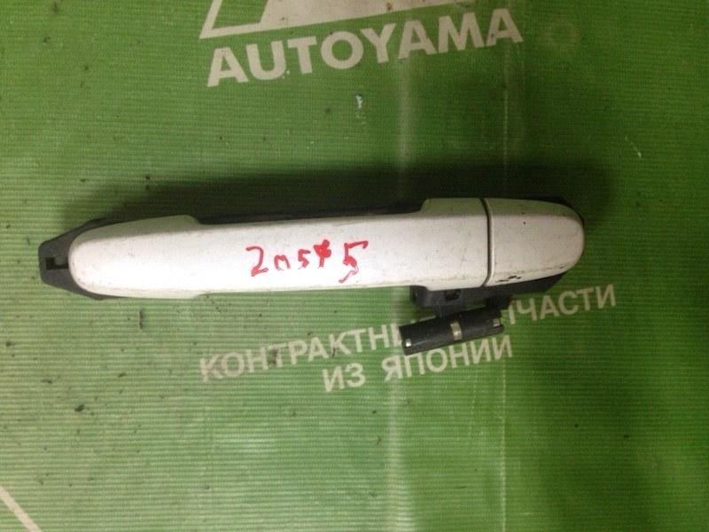Ручка двери внешняя Toyota Rav4 ACA21 задняя правая (б/у)
