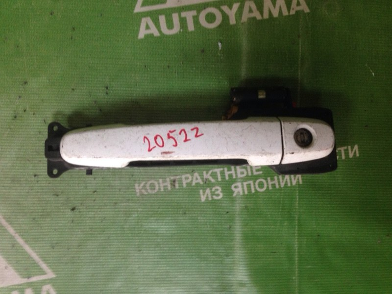 Ручка двери внешняя Toyota Ipsum ACM21 передняя левая (б/у)