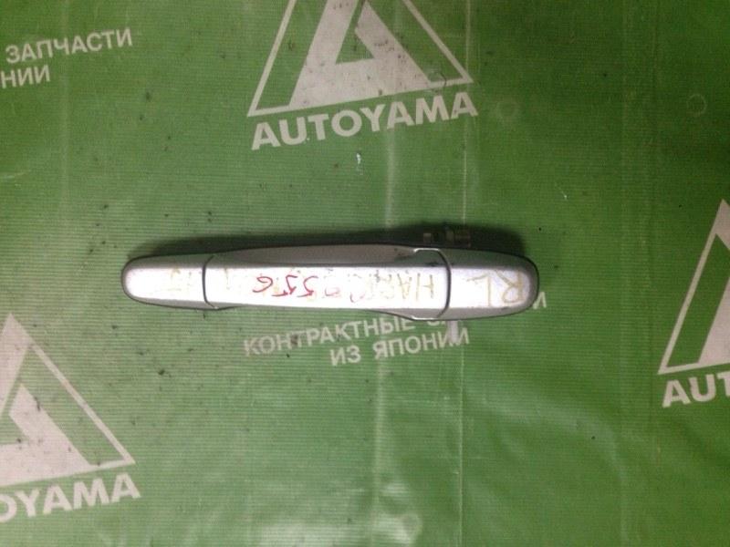Ручка двери внешняя Toyota Harrier MCU15 задняя левая (б/у)