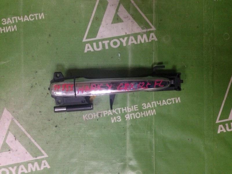 Ручка двери внешняя Toyota Mark X GRX120 передняя левая (б/у)