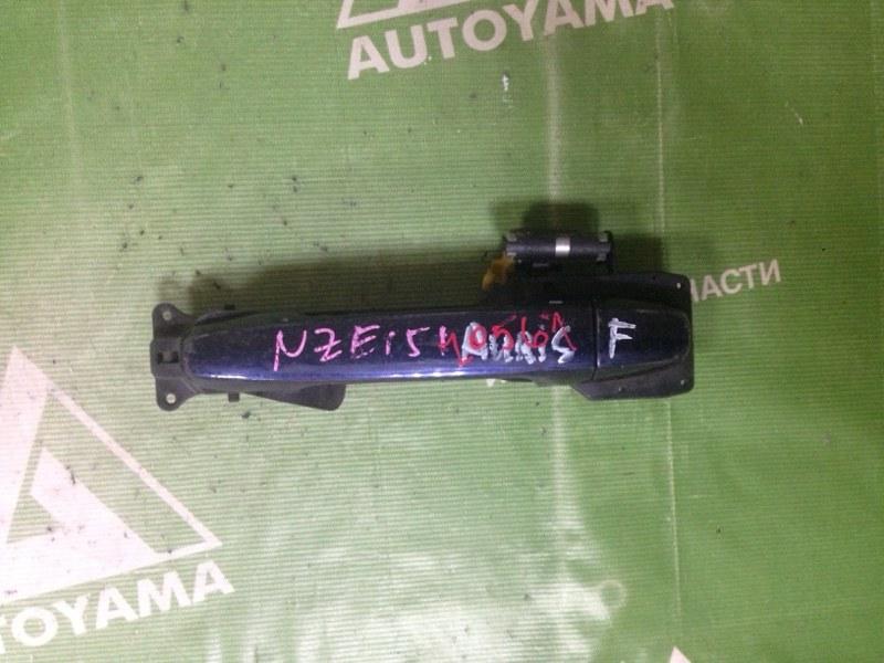 Ручка двери внешняя Toyota Auris NZE151 передняя левая (б/у)
