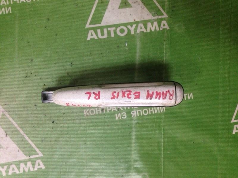 Ручка двери внешняя Toyota Raum EXZ15 задняя левая (б/у)
