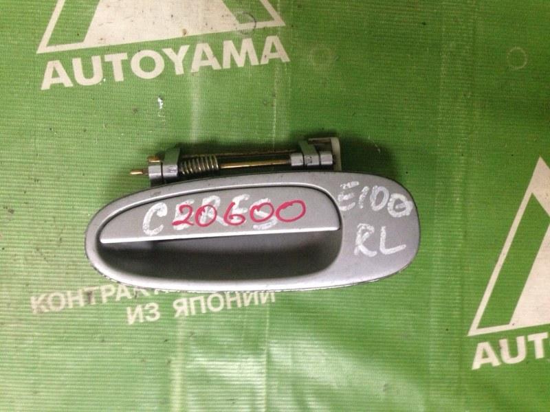 Ручка двери внешняя Toyota Corolla Ceres AE100 задняя левая (б/у)