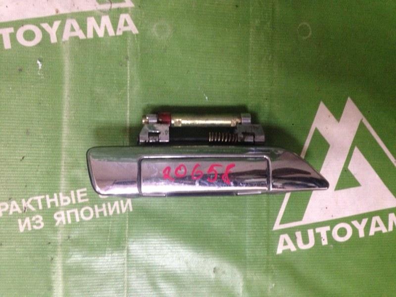 Ручка двери внешняя Nissan Bluebird U14 передняя правая (б/у)