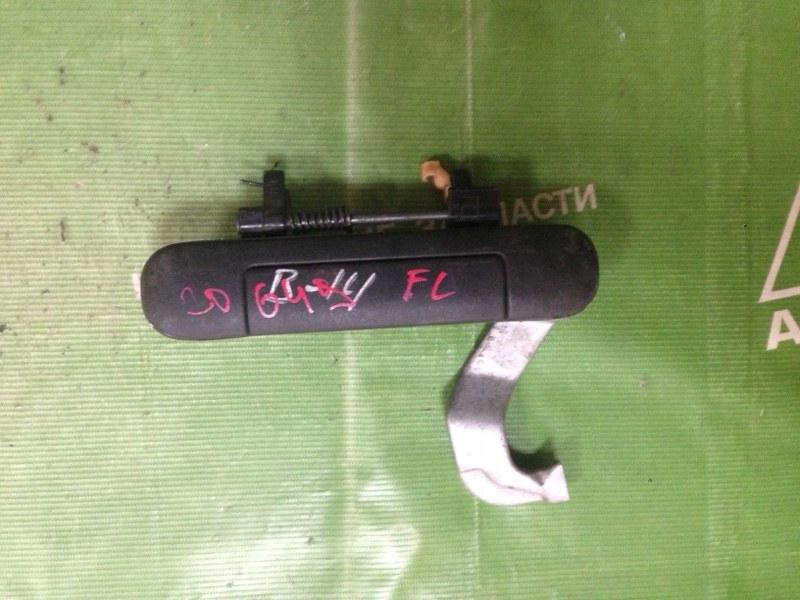 Ручка двери внешняя Nissan Sunny FB14 передняя левая (б/у)