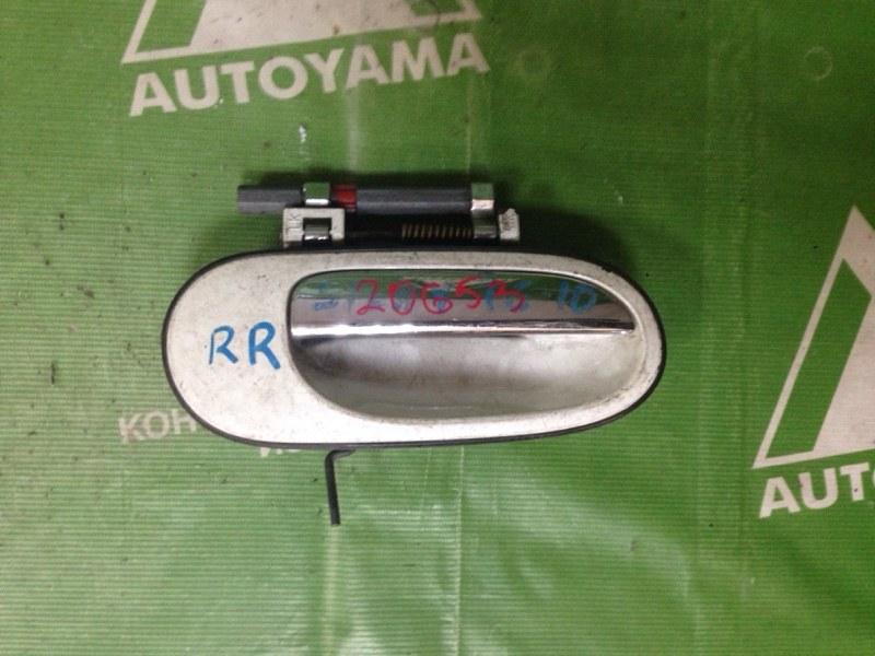 Ручка двери внешняя Nissan Bluebird Sylphy TG10 задняя правая (б/у)