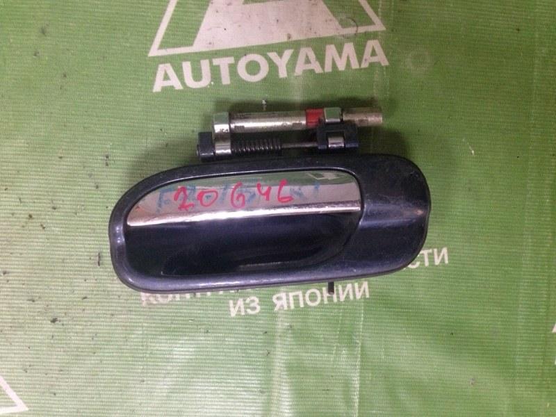 Ручка двери внешняя Nissan Sunny FB15 задняя левая (б/у)
