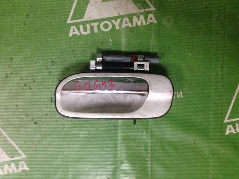 Ручка двери внешняя Nissan Sunny FB15 передняя левая (б/у)