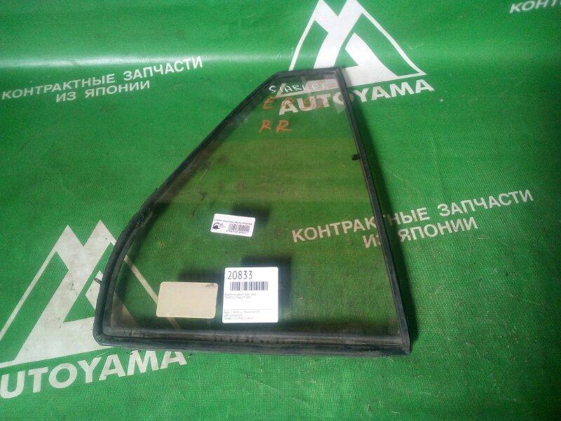Форточка двери Toyota Starlet EP82 задняя правая (б/у)