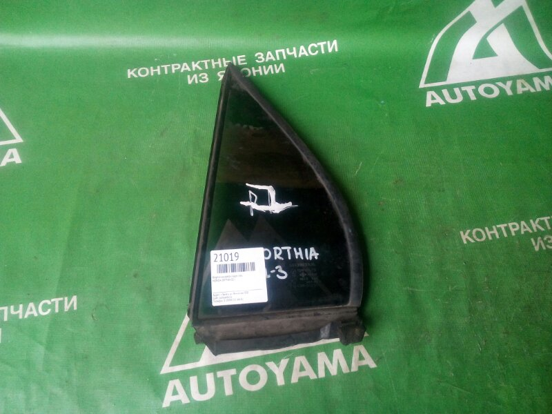 Форточка двери Honda Orthia EL1 задняя левая (б/у)