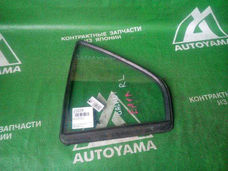 Форточка двери Mitsubishi Galant EA1A задняя левая (б/у)
