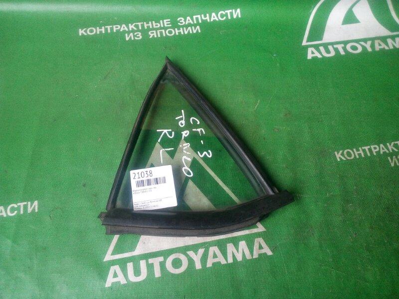 Форточка двери Honda Torneo CF4 задняя левая (б/у)