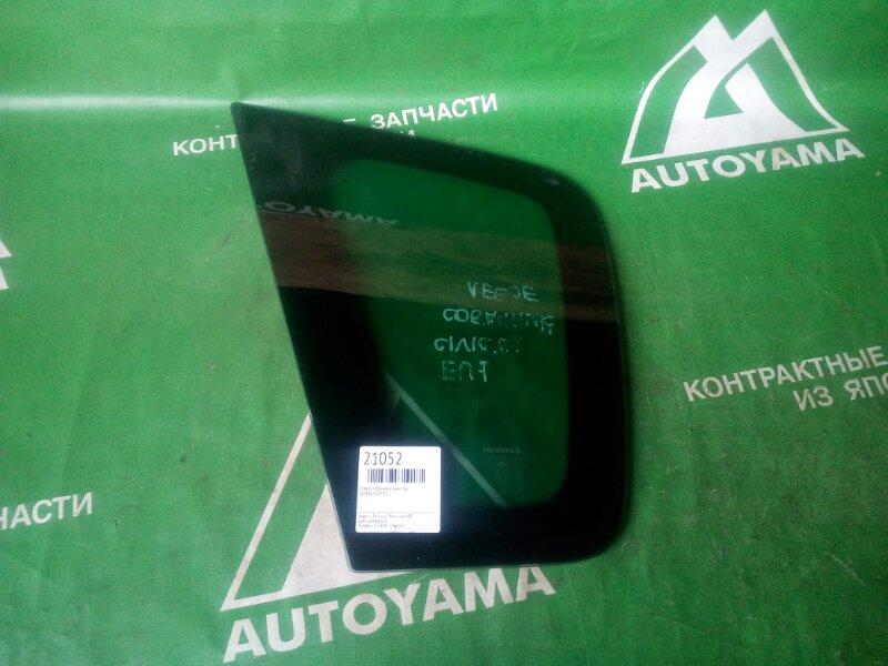 Стекло собачника Honda Civic EU1 заднее левое (б/у)