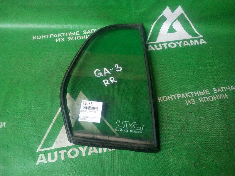 Форточка двери Honda Logo GA3 задняя правая (б/у)