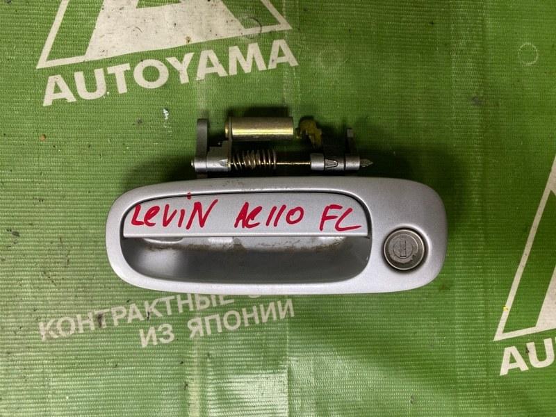 Ручка двери внешняя Toyota Corolla Levin AE110 передняя левая (б/у)