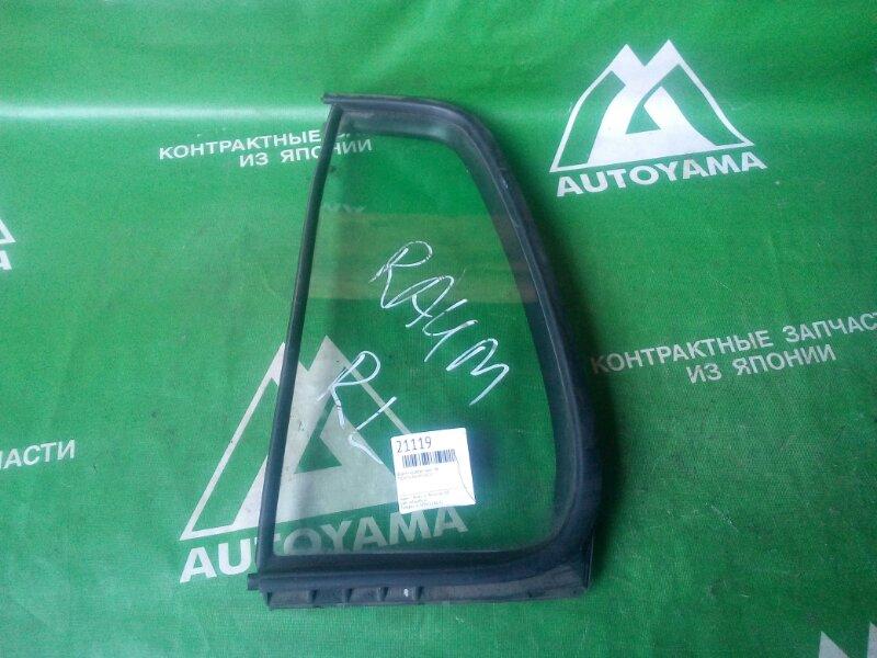 Форточка двери Toyota Raum EXZ10 задняя левая (б/у)