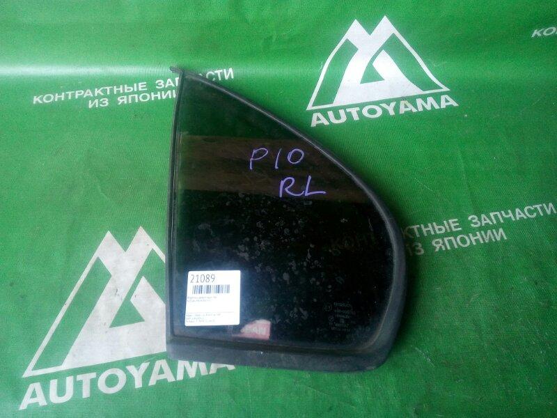 Форточка двери Nissan Primera P10 задняя левая (б/у)