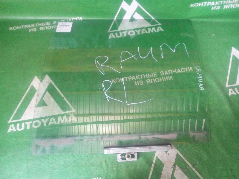 Стекло Toyota Raum EXZ10 заднее левое (б/у)